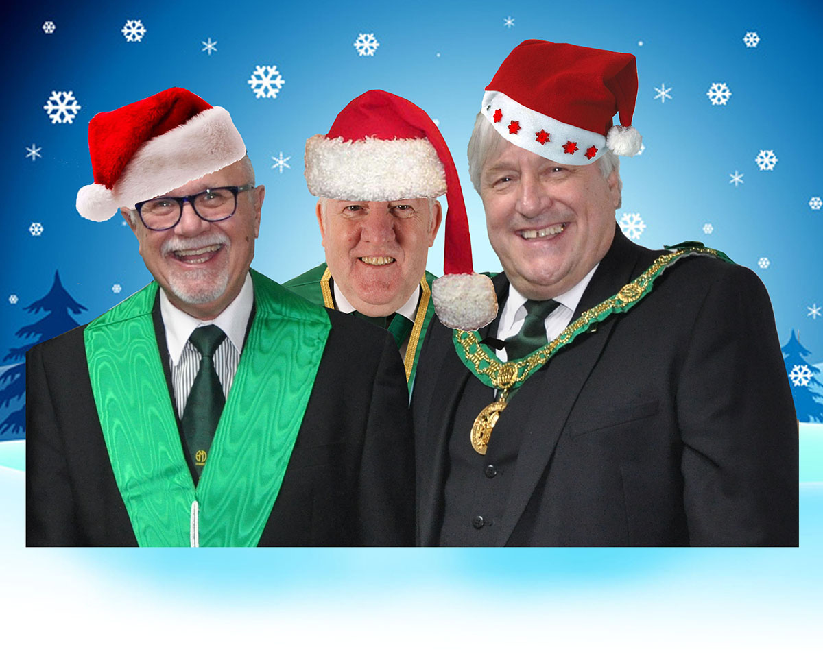 A Christmas Message from the Three Wise Men!